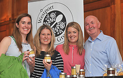 Pictured at the Food Forum at Hotel Westport part of the Westport Food Festival program that took place over the weekend were Helen Hopkins Selina Gill Siobhan Murtagh and Sean Casey from Westport Grove Jams & Chutneys.<br /> Pic Conor McKeown