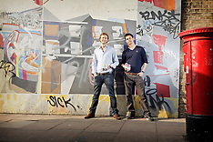 Oliver Bolton Founder of Alibi and Director Tom Procter - March 2012