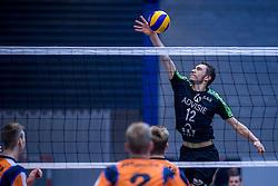 22-10-2016 NED: TT Papendal/Arnhem - Advisie SSS, Arnhem<br /> De Talenten winnen met 3-2 van SSS / Arjan Roelofs #12 of SSS