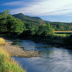 Waitsfield, VT.Mad River Valley.   Green Mountains.  Farms.  Mad River Greenway.