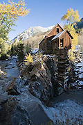 Lost Horse Mill, Crystal River, fall colors, Elk Mountains