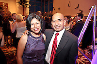(CH) Gala-Hispanic-Unity--Celebrities and community leaders attend the Hispanic Unity.of Florida's 30th Anniversary Gala and fundraiser Noche De Estrellas, on Saturday, September 22, 2012, at the Westin Diplomat Resort & Spa in Hollywood. Staff photo/Cristobal Herrera