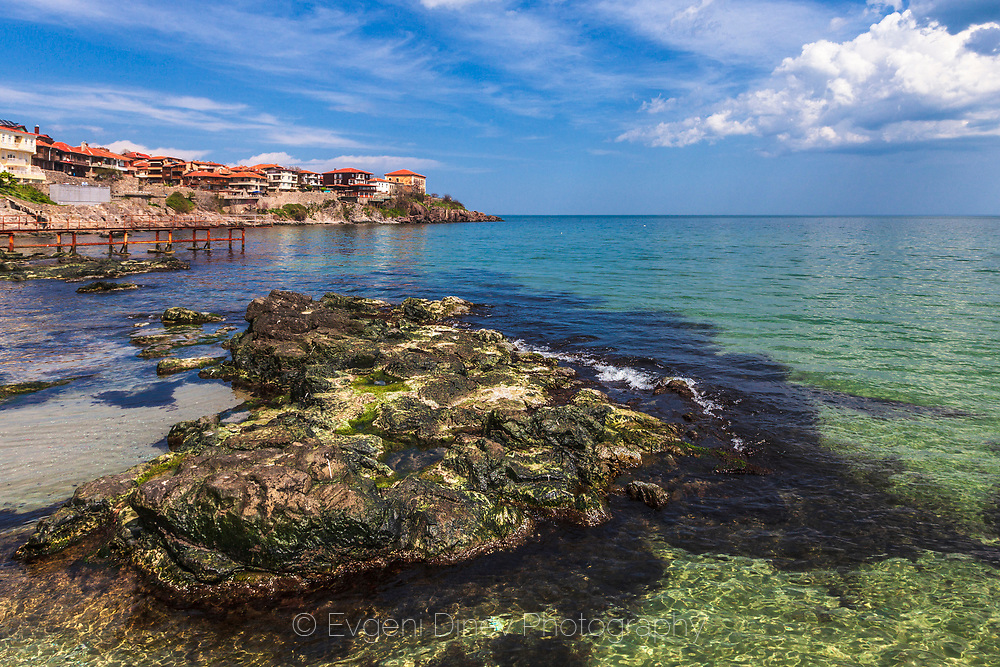 April sea by the coast of Sozopol