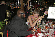Ade and Kate Goldsmith, Party Belle Epoque hosted by The Royal Parks Foundation and Champagne Perrier Jouet. The Grand Spiegeltent, the Lido Lawns. Hyde Park. London. 14 September 2006. ONE TIME USE ONLY - DO NOT ARCHIVE  © Copyright Photograph by Dafydd Jones 66 Stockwell Park Rd. London SW9 0DA Tel 020 7733 0108 www.dafjones.com