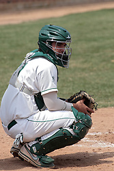 12 April 2014:  Pat Mollo during an NCAA division 3 College Conference of Illinois and Wisconsin (CCIW) baseball game between the Augustana Vikings and the Illinois Wesleyan Titans at Jack Horenberger Stadium, Bloomington IL