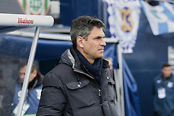 February 10, 2019 - Madrid, Madrid, Spain - CD Leganes's coach Mauricio Pellegrino during La Liga match between CD Leganes and Real Betis Balompie at Butarque Stadium in Madrid, Spain. February 10, 2019. (Credit Image: © A. Ware/NurPhoto via ZUMA Press)