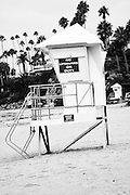Lifeguard Tower Laguna Beach California