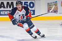 KELOWNA, CANADA - NOVEMBER 30: Nick Chyzowski LW #16 of the Kamloops Blazers skates against the Kelowna Rockets on November 30, 2013 at Prospera Place in Kelowna, British Columbia, Canada.   (Photo by Marissa Baecker/Shoot the Breeze)  ***  Local Caption  ***