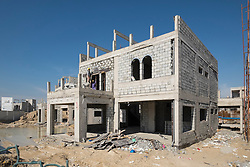 Construction of new luxury villa in Dubai United Arab Emirates