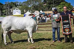 Grande Campeã da raça Brahman na 38ª Expointer, que ocorrerá entre 29 de agosto e 06 de setembro de 2015 no Parque de Exposições Assis Brasil, em Esteio. FOTO: Vilmar da Rosa/ Agência Preview