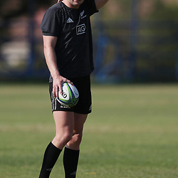 PRETORIA, SOUTH AFRICA - OCTOBER 05: Jordie Barrett during the Rugby Championship New Zealand All Blacks captain's run at St David's Marist Inanda 36 Rivonia Rd, Sandown, Sandton,on October 5, 2018 in Pretoria, South Africa. (Photo by Steve Haag/Getty Images)