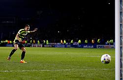 Jack Hunt of Huddersfield Town scores a penalty - Mandatory by-line: Matt McNulty/JMP - 17/05/2017 - FOOTBALL - Hillsborough - Sheffield, England - Sheffield Wednesday v Huddersfield Town - Sky Bet Championship Play-off Semi-Final 2nd Leg