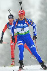 Ekaterina Iourieva (RUS) at Women 15 km Individual at E.ON Ruhrgas IBU World Cup Biathlon in Hochfilzen (replacement Pokljuka), on December 18, 2008, in Hochfilzen, Austria. (Photo by Vid Ponikvar / Sportida)