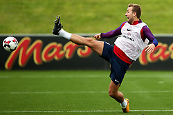 England's Harry Kane stretches for a ball - Mandatory by-line: Matt McNulty/JMP - 29/08/2017 - FOOTBALL - St George's Park National Football Centre - Burton-upon-Trent, England - England Training and Press Conference