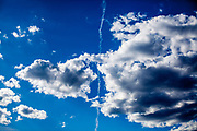 Since a while there are almost no planes in the sky anymore and we can enjoy the full beauty of the clouds.