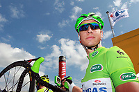 CYCLING - TOUR DE FRANCE 2012 - STAGE 4 - Abbeville > Rouen (214 km) - 04/07/2012 - PHOTO MANUEL BLONDEAU / DPPI - LIQUIGAS CANNONDALE TEAMRIDER PETER SAGAN OF SLOVAKIA