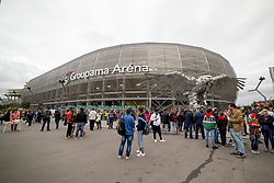 September 3, 2017 - Budapest, Hungary - Groupama Arena stadium during the FIFA World Cup 2018 Qualifying Round match between Hungary and Portugal at Groupama Arena in Budapest, Hungary on September 3, 2017  (Credit Image: © Andrew Surma/NurPhoto via ZUMA Press)