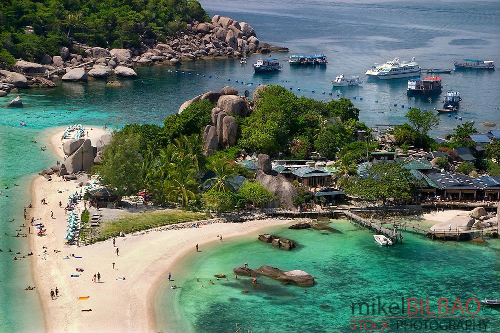 Ko Nang Yuan islands (Ko Tao). Gulf of Thailand. Thailand