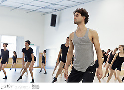 Members of Brazilian company Groupo Corpo lead a dance workshop at the New Zealand School of Dance in Wellington, as part of the New Zealand International Arts Festival.