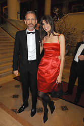 LISA BILTON and PATRICK COX at the Feast of Albion a sumptious locally-sourced banquet in aid of The Soil Association held at The Guildhall, City of London on 12th March 2008.<br />