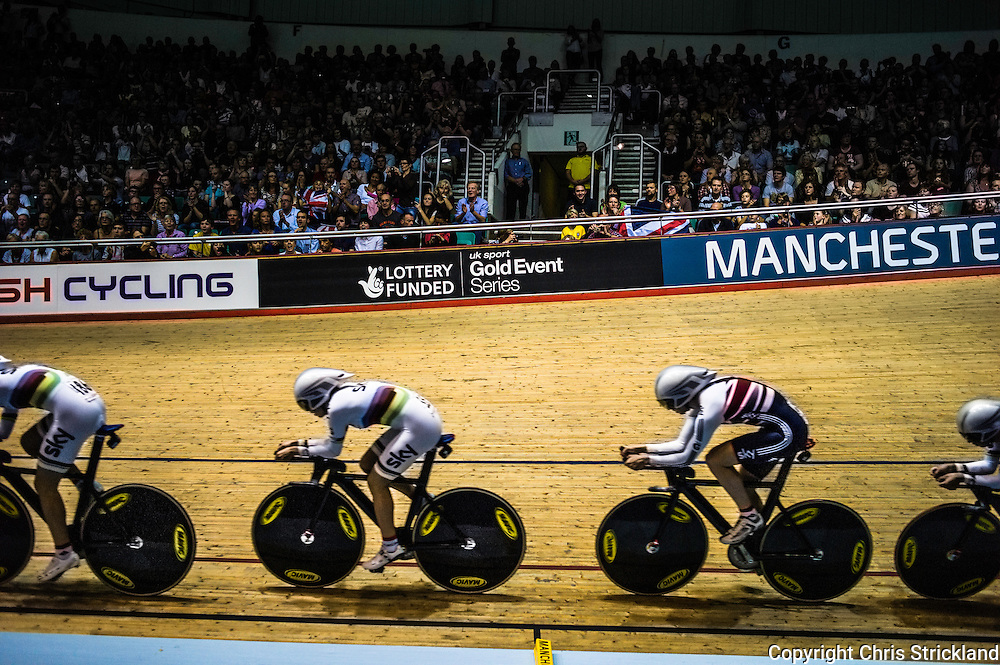 UCI Track World Cup, Manchester, UK. November 2013.