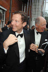 Left to right, the HON.NAT ROTHSCHILD and his father LORD ROTHSCHILD at the Ark 2007 charity gala at Marlborough House, Pall Mall, London SW1 on 11th May 2007.<br /><br />NON EXCLUSIVE - WORLD RIGHTS
