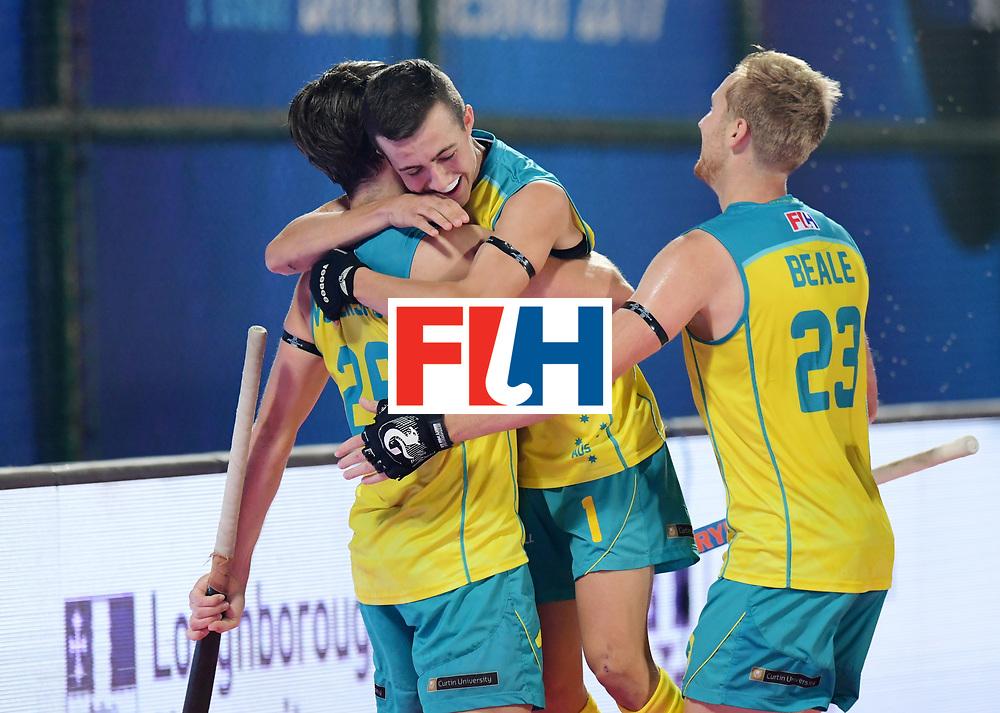 Odisha Men's Hockey World League Final Bhubaneswar 2017<br /> Match id:15<br /> Spain v Australia<br /> Foto: no goal for Australia<br /> COPYRIGHT WORLDSPORTPICS FRANK UIJLENBROEK