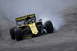 May 11, 2019 - Barcelona, Catalonia, Spain - Nico Hulkenberg of Germany driving the (27) Renault F1 Team RS19 during qualifying for the F1 Grand Prix of Spain at Circuit de Barcelona-Catalunya on May 11, 2019 in Barcelona, Spain. (Credit Image: © Jose Breton/NurPhoto via ZUMA Press)