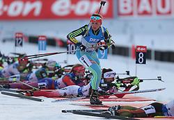 11.03.2016, Holmenkollen, Oslo, NOR, IBU Weltmeisterschaft Biathlon, Oslo, 4x6 Km Staffel, Damen, im Bild Iryna Varvynets (UKR) // during 4x6 km women relay of the IBU World Championships, Oslo 2016 at the Holmenkollen in Oslo, Norway on 2016/03/11. EXPA Pictures © 2016, PhotoCredit: EXPA/ Newspix/ Tomasz Jastrzebowski<br /> <br /> *****ATTENTION - for AUT, SLO, CRO, SRB, BIH, MAZ, TUR, SUI, SWE only*****