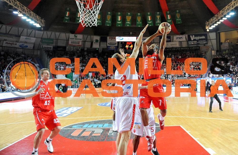 DESCRIZIONE : Varese Lega A 2012-13 Cimberio Varese EA7 Emporio Armani Milano<br /> GIOCATORE : Malik Hairston<br /> SQUADRA : EA7 Emporio Armani Milano<br /> EVENTO : Campionato Lega A 2012-2013<br /> GARA :  Cimberio Varese EA7 Emporio Armani Milano<br /> DATA : 14/04/2013<br /> CATEGORIA : Tiro Commercial<br /> SPORT : Pallacanestro<br /> AUTORE : Agenzia Ciamillo-Castoria/A.Giberti<br /> Galleria : Lega Basket A 2012-2013<br /> Fotonotizia : Varese Lega A 2012-13 Cimberio Varese EA7 Emporio Armani Milano<br /> Predefinita :