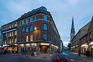 New Inn Hall, Oxford. Appartments designed by Ben Adams Architects.