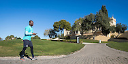 JEREZ DE LA FRONTERA, Spanje, voetbal, seizoen 2016-2017, 5-1-2017, winterstop, training PSV,  Monte Castillo Barcelo Resort, overzicht trainingscomplex, PSV speler Jetro Willems.