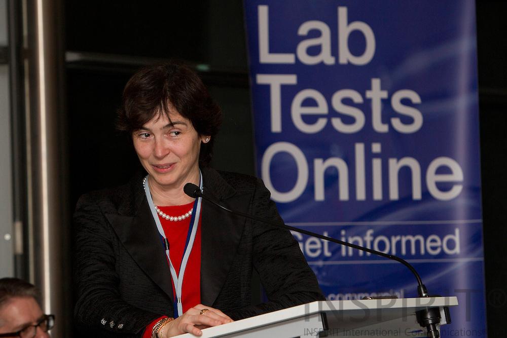 BRUSSELS - BELGIUM - 25 JANUARY 2011 - - Dr. Isabel De la Mata, Special Adviser DG SANCO, EU Commission.  Photo: Erik Luntang / INSPIRIT Photo