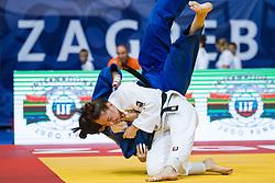 VERVERK Marhinde of the Netherlands competes on July 28, 2019 at the IJF World Tour, Zagreb Grand Prix 2019, in Dom Sportova, Zagreb, Croatia. Photo by SPS / Sportida