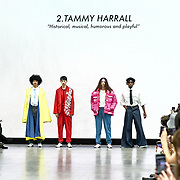 Liverpool John Moores University showcases at Graduate Fashion Week 2019, on 2nd June 2019, Old Truman Brewery, London, UK.