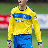 St Johnstone FC....Season 2011-12<br /> Steven Anderson<br /> Picture by Graeme Hart.<br /> Copyright Perthshire Picture Agency<br /> Tel: 01738 623350  Mobile: 07990 594431