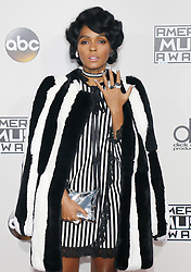 Janelle Monae at the 2016 American Music Awards held at the Microsoft Theater in Los Angeles, USA on November 20, 2016.