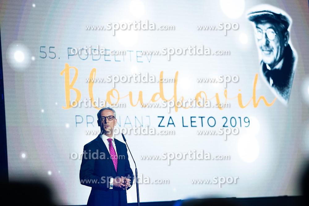 Jernej Pikalo at 55th Annual Awards of Stanko Bloudek for sports achievements in Slovenia in year 2018 on February 4, 2020 in Brdo Congress Center, Kranj , Slovenia. Photo by Grega Valancic / Sportida