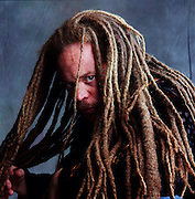Portrait for a story on dread locks.
