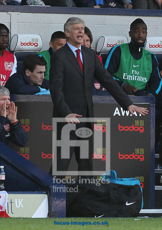 Picture by Paul Terry/Focus Images Ltd. 07545642257.13/05/12.Arsene Wenger, manager of Arsenal during the Barclays Premier League match at The Hawthorns stadium, West Bromwich.