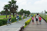 The Bali Left Bank Bike Trail and park.