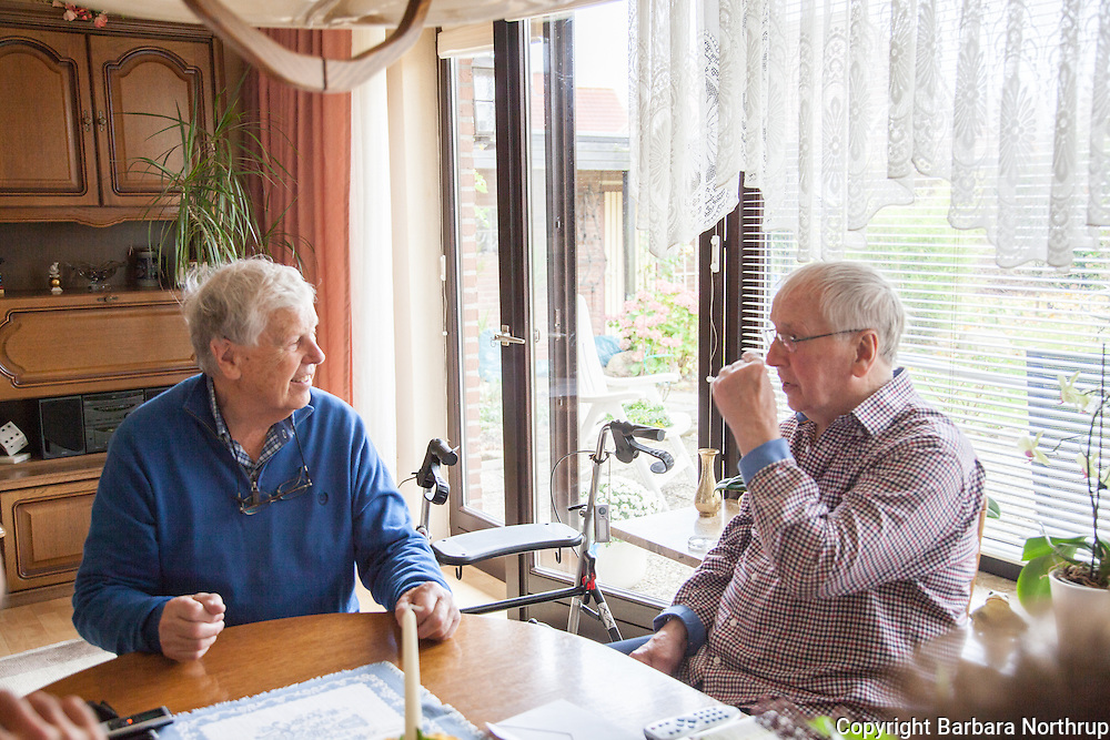 Home of Harold and Inge.  Klaus and Harold.