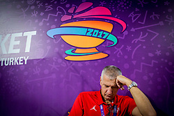 Aleksandar Aco Petrovic, head coach of Croatia after the basketball match between National Teams of Croatia and Russia at Day 11 in Round of 16 of the FIBA EuroBasket 2017 at Sinan Erdem Dome in Istanbul, Turkey on September 10, 2017. Photo by Vid Ponikvar / Sportida