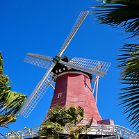 Old Dutch Windmill in Palm Beach District, Aruba<br />