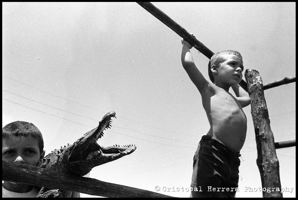 """Black and White photos about the childrens life in Cuba. From the """"Niños en Plata"""" photo essay."""