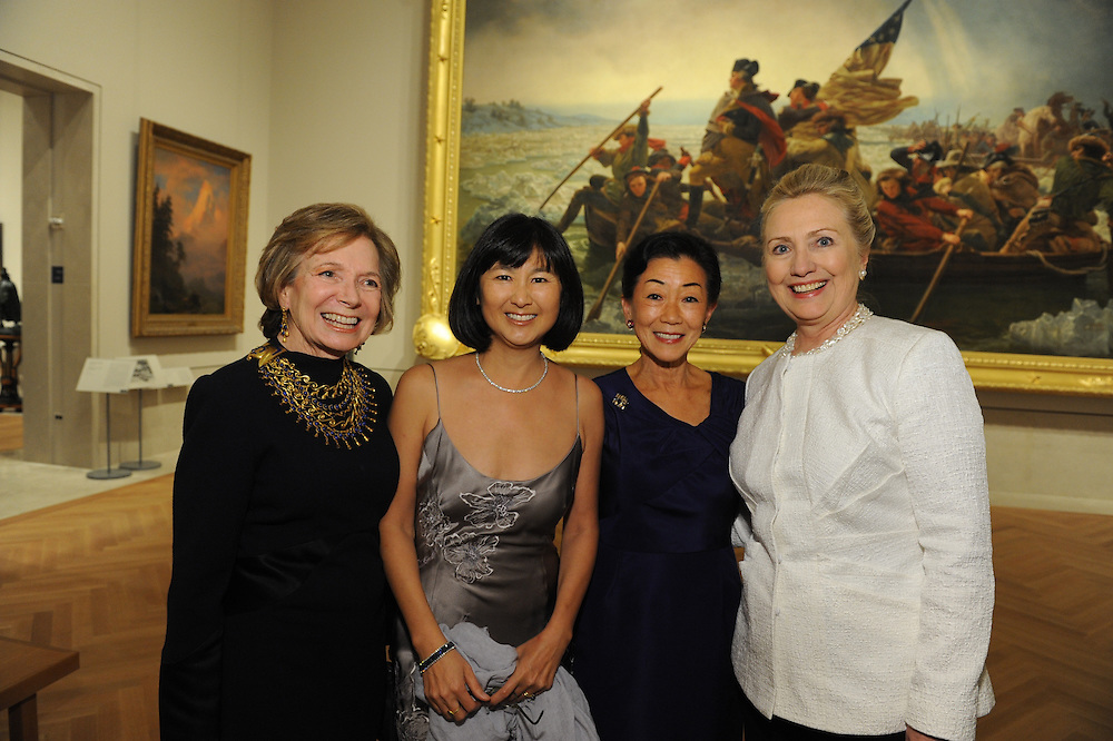 The New American Wing at The Metropolitan Museum of Art dinner on January 12, 2012.