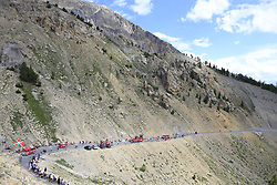 The publicity caravan on Col d'Izoard during Stage 18 of the 104th edition of the Tour de France 2017, running 179.5km from Briancon to the summit of Col d'Izoard, France. 20th July 2017.<br /> Picture: Eoin Clarke | Cyclefile<br /> <br /> All photos usage must carry mandatory copyright credit (© Cyclefile | Eoin Clarke)