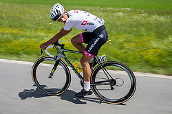 Ziga Jerman (SLO) of Rog - Ljubljana during Stage 3 of 24th Tour of Slovenia 2017 / Tour de Slovenie from Celje to Rogla (167,7 km) cycling race on June 16, 2017 in Slovenia. Photo by Vid Ponikvar / Sportida