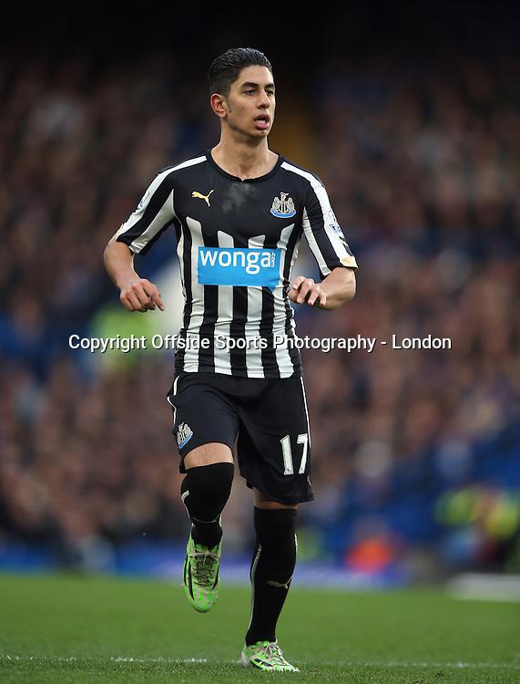 10 January 2015 Premier League Football - Chelsea v Nerwcastle United ;  Ayoze Perez of Newcastle.<br /> Photo: Mark Leech