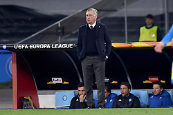 March 7, 2019 - Naples, Naples, Italy - Head Coach of SSC Napoli Carlo Ancelotti during the UEFA Europa League match between SSC Napoli and RB Salzburg at Stadio San Paolo Naples Italy on 7 March 2019. (Credit Image: © Franco Romano/NurPhoto via ZUMA Press)
